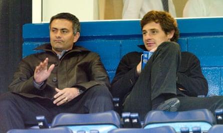 José Mourinho and André Villas-Boas