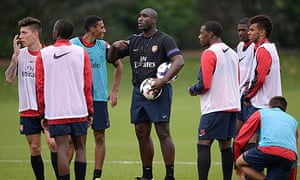 Sol Campbell coaching