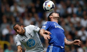Andros Townsend and Frank Lampard