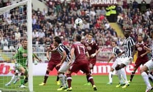 Paul Pogba scores for Juve