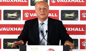 Greg Dyke, the FA chairman