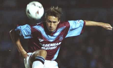 West Ham United forward Lee Chapman