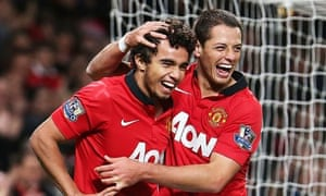 Manchester United's Fabio da Silva
