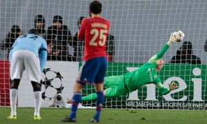 Joe Hart can't save penalty from Bebras Natcho