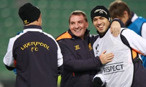 Brendan Rodgers Liverpool Luis Suárez