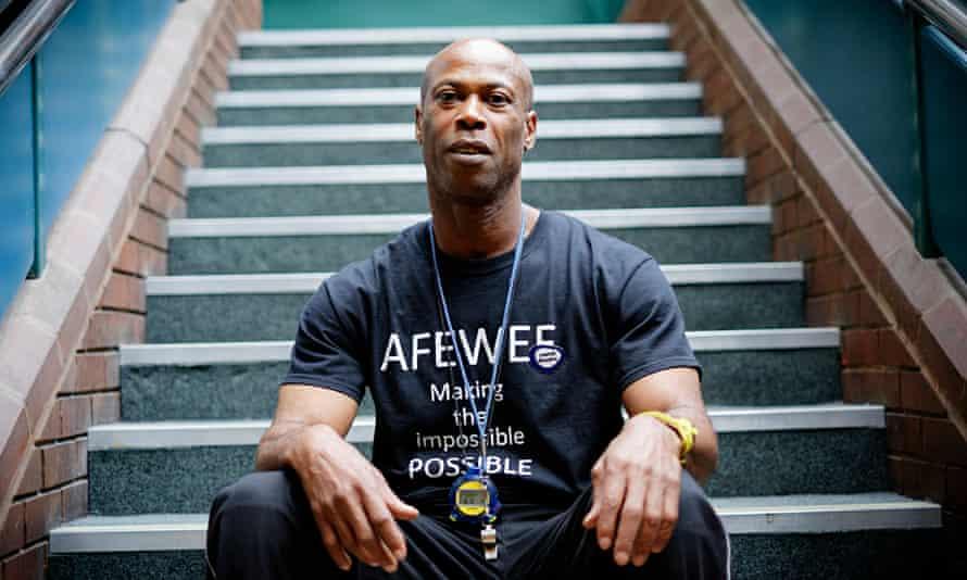 Steadman Scott, coach at the Afewee Academy
