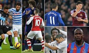 Premier League talking points composite