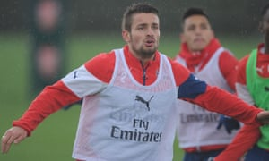 Mathieu Debuchy only returned from a three-month injury lay-off against Galatasaray on Tuesday