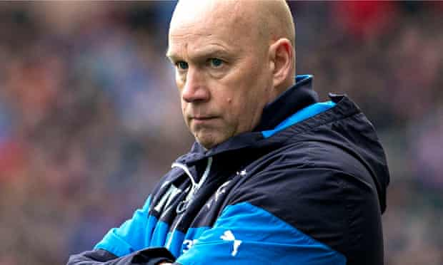Rangers' caretaker manager Kenny McDowall