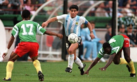 9e5e6af53 World Cup stunning moments  Cameroon shock Argentina in 1990 ...