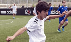 Zinedine Zidane's son ...