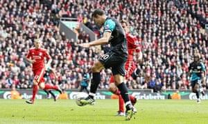 Robin van Persie Liverpool v Arsenal