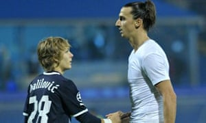 Alen Halilovic and Zlatan Ibrahimovic