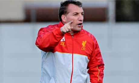 Brendan Rodgers, Liverpool manager