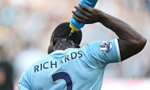 Micah Richards of Manchester City