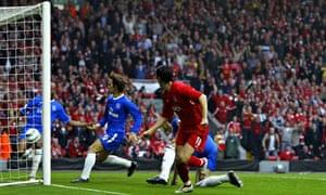 Liverpool's Luis Garcia