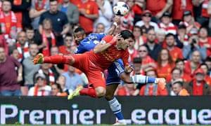 Ashley Cole Chelsea Luis Suárez Liverpool