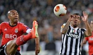 Carlos Tevez Juventus Luisao Benfica