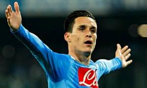 Napoli's Jose Callejon