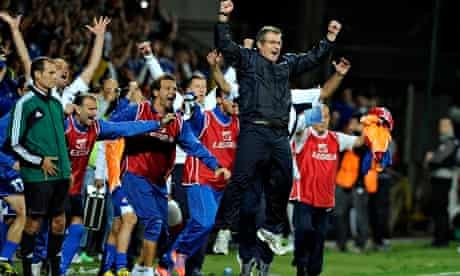 Bosnia-Herzegovina's head coach Safet Susic