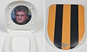 Hull City Steve Bruce loo seat