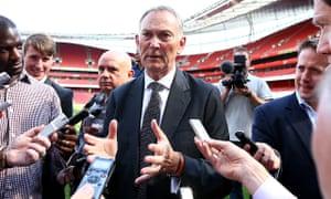 Richard Scudamore, Premier League chief executive