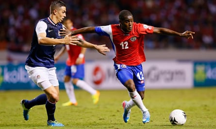 World Cup 2014 Costa Rica Profile Joel Campbell Costa Rica The Guardian