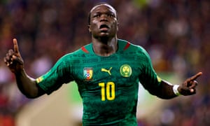 Vincent Aboubakar of Cameroon