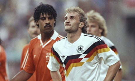 World Cup stunning moments: Frank Rijkaard and Rudi Völler   Barry Glendenning