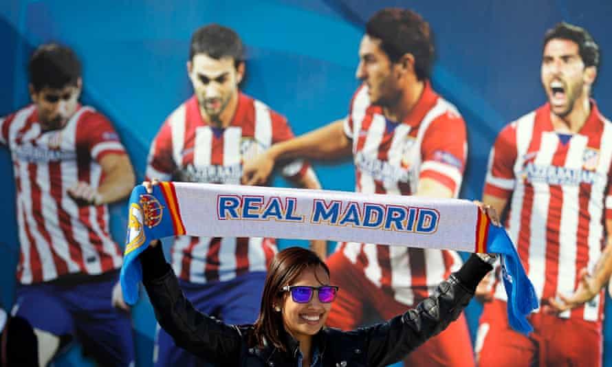 A Real Madrid fan