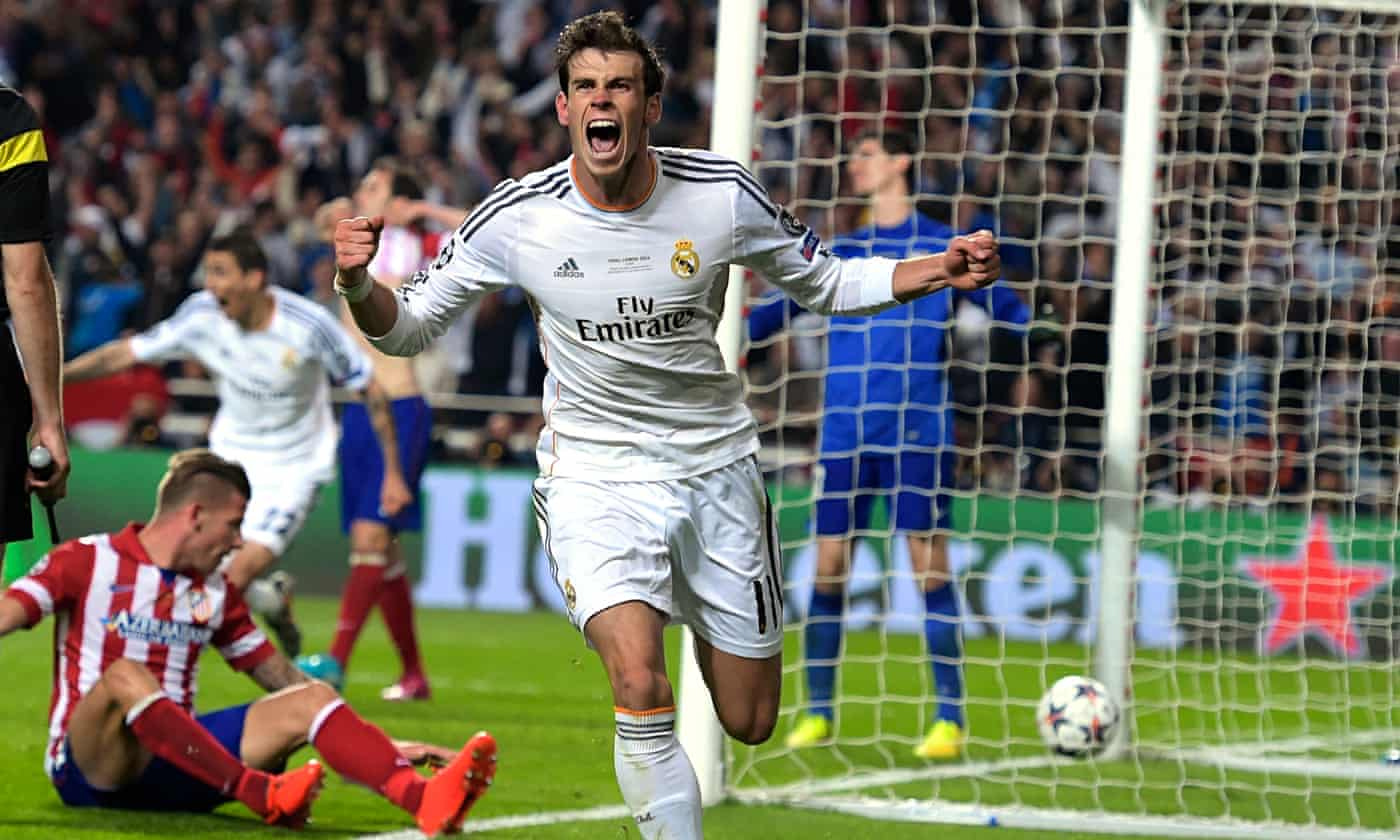Real Madrid's Gareth Bale proves he has a head for destiny