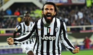 540b6822d Andrea Pirlo  who mastered the art of free-kick taking on the toilet to  help Juventus to their third straight title. Photograph  Imago   Barcroft  Media