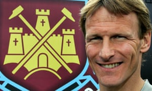 West Ham United's Teddy Sheringham at the club in 2006