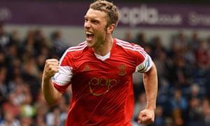 Southampton forward Rickie Lambert