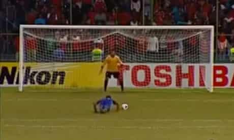 Penalty 'trip' routine