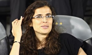 Helena Costa, pictured in 2013 during her spell as head coach of Iran's women's national team
