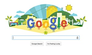 World Cup 2014: Google Doodle