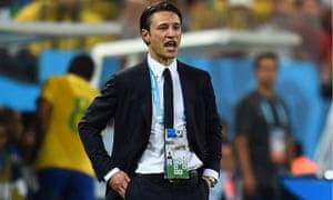 Croatia coach Niko Kovac