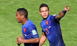 Holland forward Memphis Depay