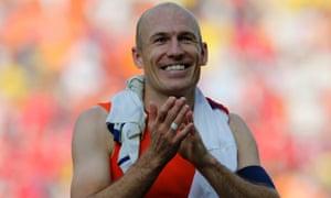 Arjen Robben of Holland
