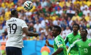 France score against Nigeria