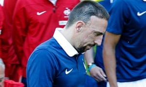 France midfielder Franck Ribéry has been ruled out of the World Cup