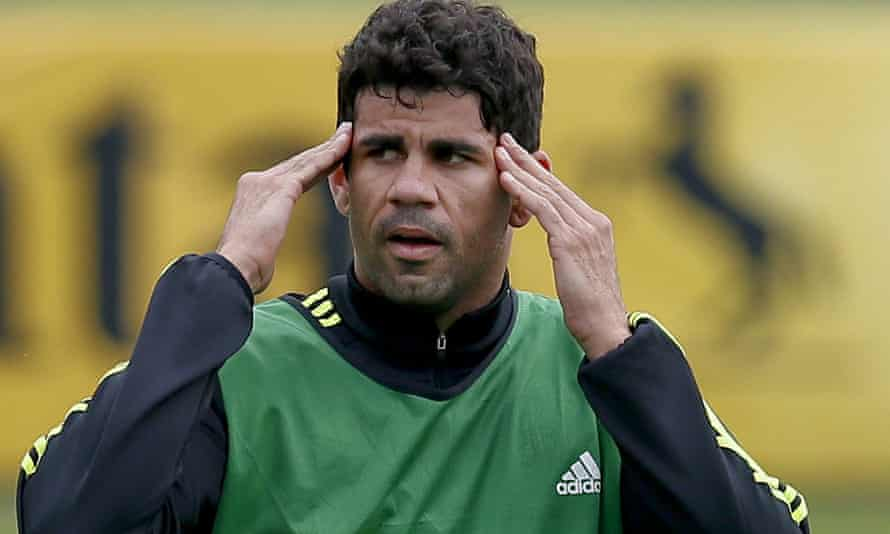 Diego Costa has completed his Chelsea move