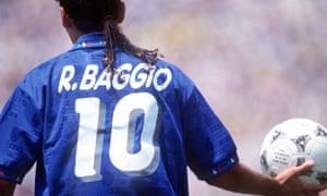 Roberto Baggio of Italy