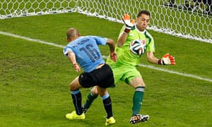 Colombia's goalkeeper David Ospina