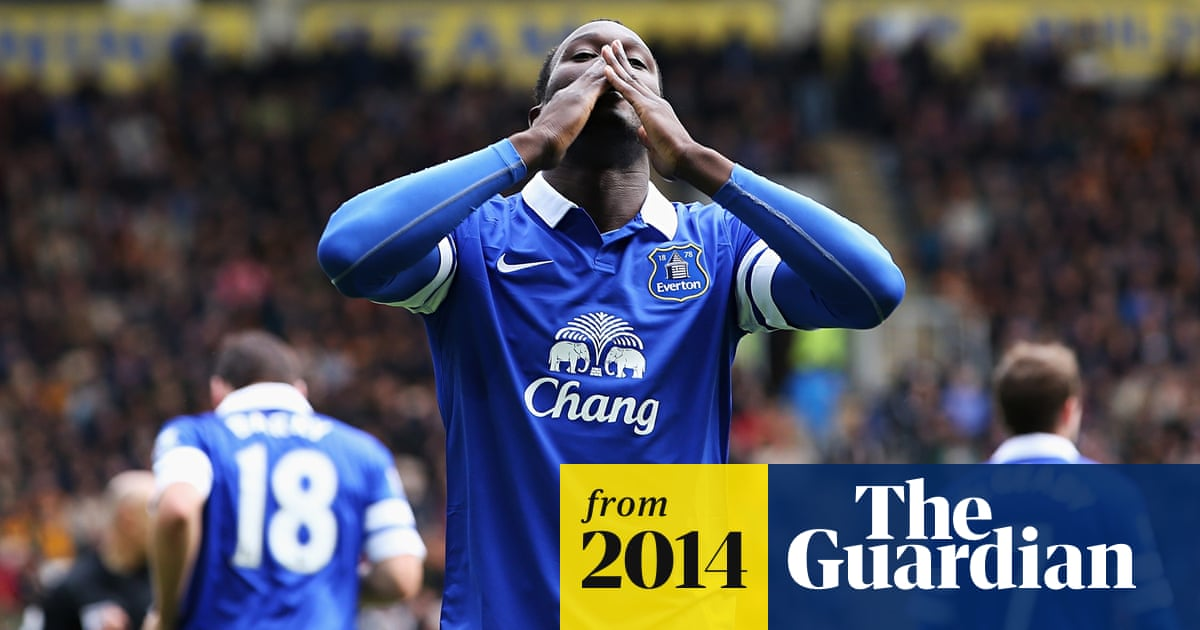 reputable site a25c2 908eb Everton close to completing deal to sign Romelu Lukaku from ...