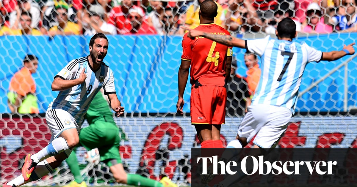 a1f7b20a1 World Cup 2014  Argentina into semi-finals at expense of Belgium