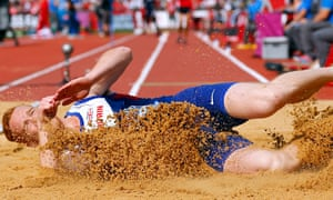 Greg Rutherford won gold on Sunday in the long jump, adding to Britain's record haul.