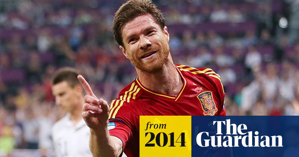 e49f4f013 Xabi Alonso retires from Spain duty two months after World Cup failure