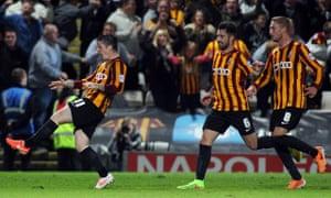 Bradford City v Leeds United